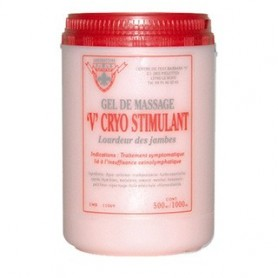 Gel de massage V Cryo stimulant 1000 ml