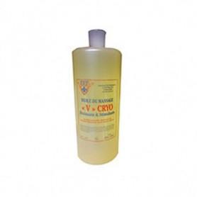 Huile de massage V Cryo drainante 1000 ml