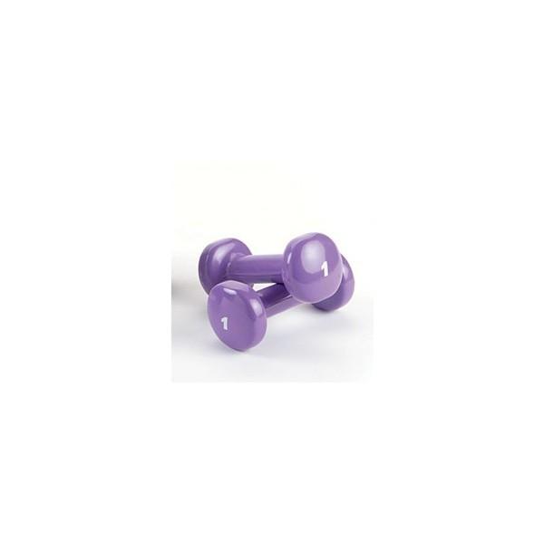 Poids avec revêtement vinyle 1 kg (Violet)